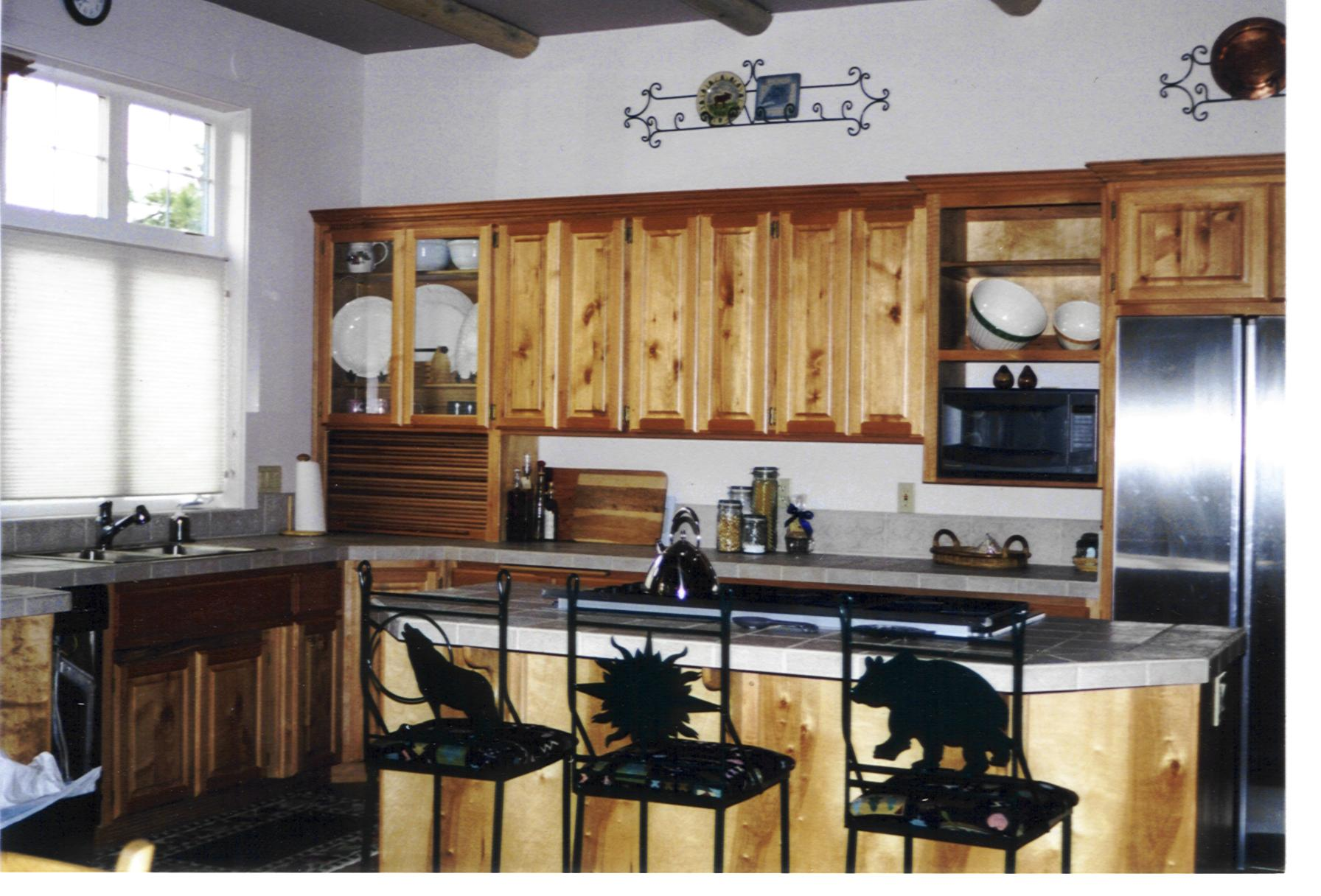 Resort Kitchen in Chinquapin